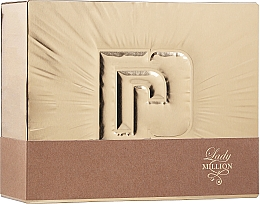 Fragrances, Perfumes, Cosmetics Paco Rabanne Lady Million - Set (edp/80ml + b/lot/100ml)
