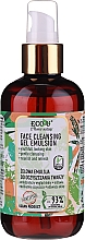Fragrances, Perfumes, Cosmetics Facial Cleansing Gel Emulsion - Eco U Face Cleansing Gel Emulsion