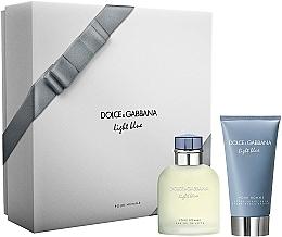 Fragrances, Perfumes, Cosmetics Dolce & Gabbana Light Blue Pour Homme - Set (edt/75ml + ash/balm/75ml)