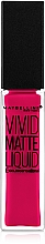 Fragrances, Perfumes, Cosmetics Lip Gloss - Maybelline Color Sensational Vivid Matte Liquid
