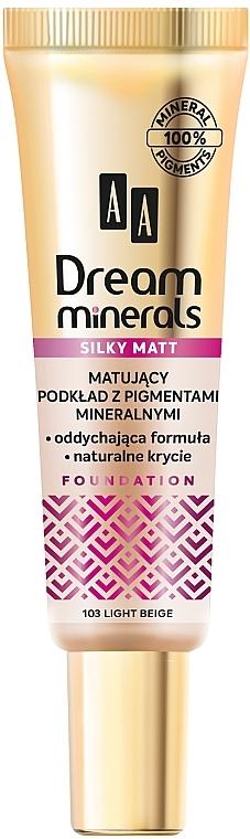 Mattifying Face Foundation - AA Dream Minerals Silky Matt Foundation