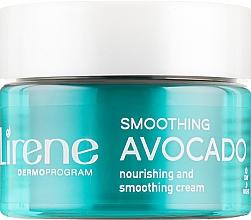 "Fragrances, Perfumes, Cosmetics Elasticity Increasing Hyaluronic Cream ""Rejuvenating Avocado Oil"" - Lirene Moisture and Nourishment Cream"