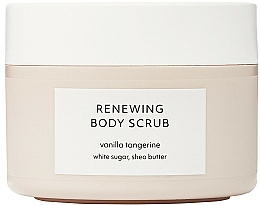 Fragrances, Perfumes, Cosmetics Body Scrub - Estelle & Thild Vanilla Tangerine Renewing Body Scrub