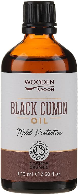 Black Cumin Oil - Wooden Spoon Black Cumin Oil