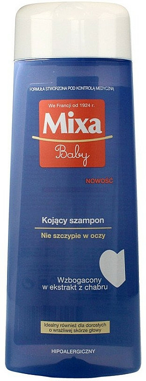 Sensitive Scalp Shampoo - Mixa Baby Shampoo