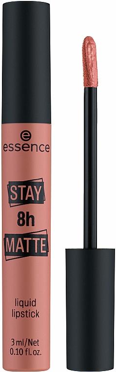 Liquid Lipstick - Essence Stay 8H Matte Liquid Lipstick