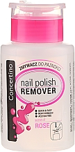 """Fragrances, Perfumes, Cosmetics Acenote-Free Nail Polish Remover """"Rose and Vitamins"""" - Concertino"""