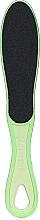 Fragrances, Perfumes, Cosmetics Narrow Plastic Foot File T-02, 100/180, 255mm, light green - Staleks