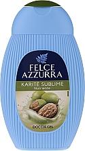 "Fragrances, Perfumes, Cosmetics Shower Gel ""Karite"" - Paglieri Felce Azzurra Benessere Shower Gel"