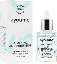 Fragrances, Perfumes, Cosmetics Soothing Face Serum - Ayoume Tea Tree Soothing & Purifying Serum
