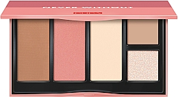 Fragrances, Perfumes, Cosmetics Contouring Palette - Pupa Never Without Palette