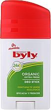 Fragrances, Perfumes, Cosmetics Deodorant Stick - Byly Organic Extra Fresh 48h Deodorant Stick