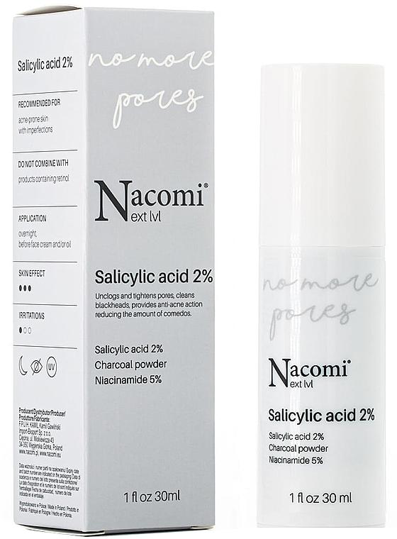 Salicylic Acid 2% Face Serum - Nacomi Next Level Salicylic Acid 2%
