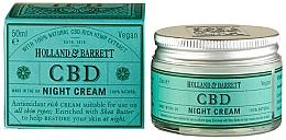Fragrances, Perfumes, Cosmetics Facial Night Cream - Holland & Barrett CBD Night Cream