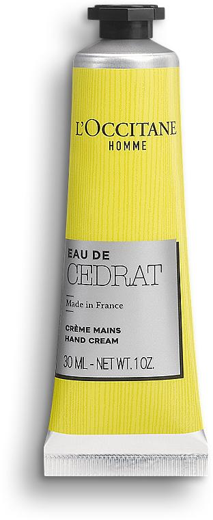 L'Occitane Cedrat - Penfumed Hand Cream — photo N1