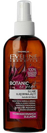 Intensely Strengthening Body Oil - Eveline Cosmetics Botanic Expert