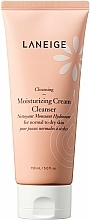 Fragrances, Perfumes, Cosmetics Moisturizing Face Wash Foam - Laneige Moist Cream Cleanser