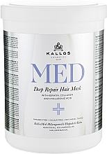 Fragrances, Perfumes, Cosmetics Deep Repair Mask - Kallos Cosmetics MED Deep Repair Hair Mask