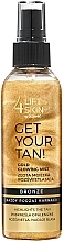 Fragrances, Perfumes, Cosmetics Body Glowing Mist - Lift4Skin Get Your Tan! Gold Glowing Mist