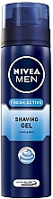"Fragrances, Perfumes, Cosmetics Shaving Gel ""Fresh Active"" - Nivea For Men Fresh Active Shaving Gel"