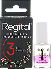 Fragrances, Perfumes, Cosmetics Nail & Cuticle Three-Phase Oil - Regital Three-phase Cuticle And Nail Oil