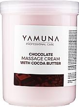 "Fragrances, Perfumes, Cosmetics Massage Cream ""Chocolate Dream"" - Yamuna Massage Cream"