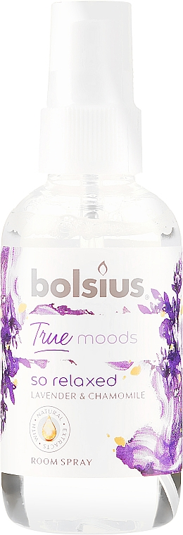 """Room Spray """"Lavender and Chamomile"""" - Bolsius Room Spray True Moods So Relaxed"""