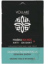 Fragrances, Perfumes, Cosmetics Regenerating Night Face Mask - Vollare Anti-Oxidant Sleeping Mask