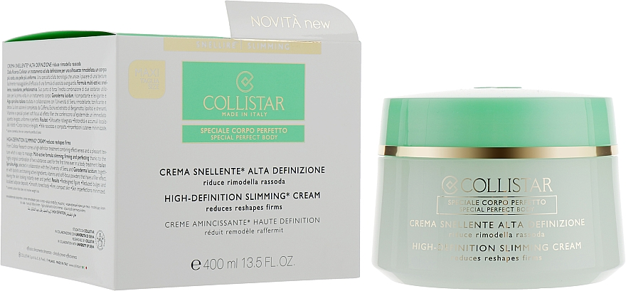 Slimming Cream - Collistar Crema Snellente Alta Definizione