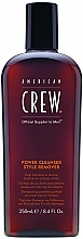 Fragrances, Perfumes, Cosmetics Deep Cleansing Daily Shampoo - American Crew Power Cleanser Style Remover