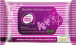 Fragrances, Perfumes, Cosmetics Intimate Wash Wet Wipes - Gentle Day