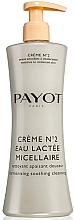 Fragrances, Perfumes, Cosmetics Cleansing Micellar Milk for Sensitive Skin - Payot Creme № 2