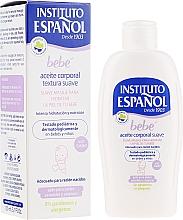 Fragrances, Perfumes, Cosmetics Baby Body Oil - Instituto Espanol