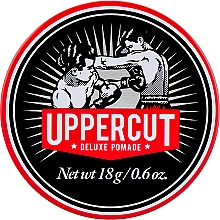 Fragrances, Perfumes, Cosmetics Strong Hold Hair Styling Pomade - Uppercut Deluxe Pomade Barber Tin (mini size)