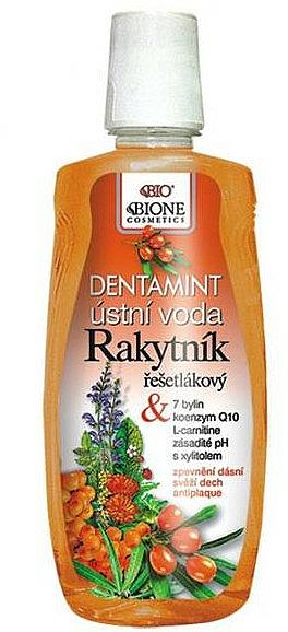 Mouthwash - Bione Cosmetics Dentamint Mouthwash Common Sea Buckthorn