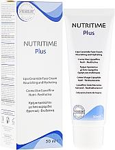 Fragrances, Perfumes, Cosmetics Moisturizing Face Cream - Synchroline Nutritime Face Cream