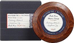 Fragrances, Perfumes, Cosmetics Bath House Spanish Fig and Nutmeg - Shaving Soap