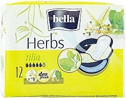 Fragrances, Perfumes, Cosmetics Pantiliners Panty Herbs Tilia, 12 pcs - Bella