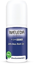 Fragrances, Perfumes, Cosmetics Men Roll-On Deodorant - Weleda Men 24h Deo Roll-On