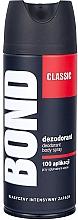 Fragrances, Perfumes, Cosmetics Deodorant-Spray - Bond Expert Classic Deodorant Body Spray