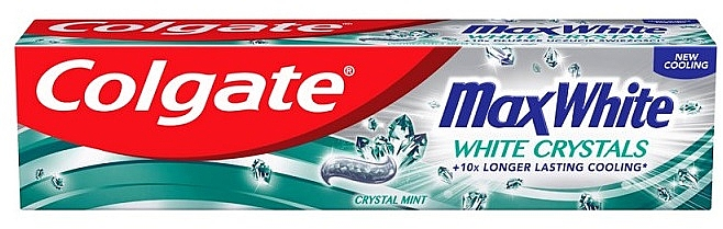 Whitening Toothpaste - Colgate Max White White Crystals