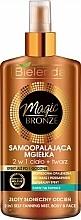Fragrances, Perfumes, Cosmetics Self Tanning Spray for Face and Body - Bielenda Magic Bronze