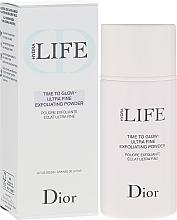 Fragrances, Perfumes, Cosmetics Exfoliating Powder - Dior Hydra Life Time To Glow Ultra Fine Exfoliating Powder