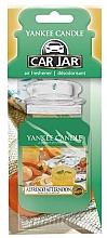 Fragrances, Perfumes, Cosmetics Car Air Freshener - Yankee Candle Car Jar Alfresco Afternoon