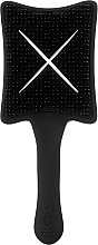 Fragrances, Perfumes, Cosmetics Detangler Brush - Ikoo Paddle X Pops Beluga Black