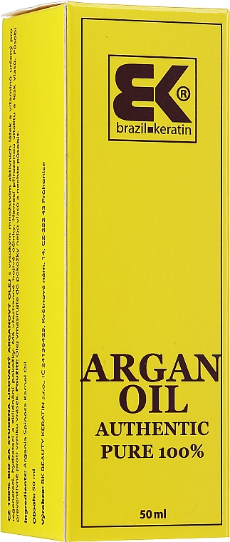 Argan Oil, with pipette - Brazil Keratin Argan Seed Oil Authentic Pure 100% — photo N2