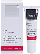 Fragrances, Perfumes, Cosmetics Concentrated Soothing Serum for Sensitive, Redness-Prone Skin - Ziaja Med Capillary Care