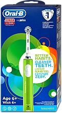 Fragrances, Perfumes, Cosmetics Electric Tooth Brush for Kids from 6 y.o. - Oral-B Braun Junior