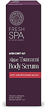 Fragrances, Perfumes, Cosmetics Anti-Cellulite Body Serum - Natura Siberica Fresh Spa Kam-Chat-Ka Algae Tsunami Body Serum