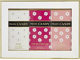 Fragrances, Perfumes, Cosmetics Prada Candy Gift Set - Set (edp/20ml + edp/20ml + edt/20ml)